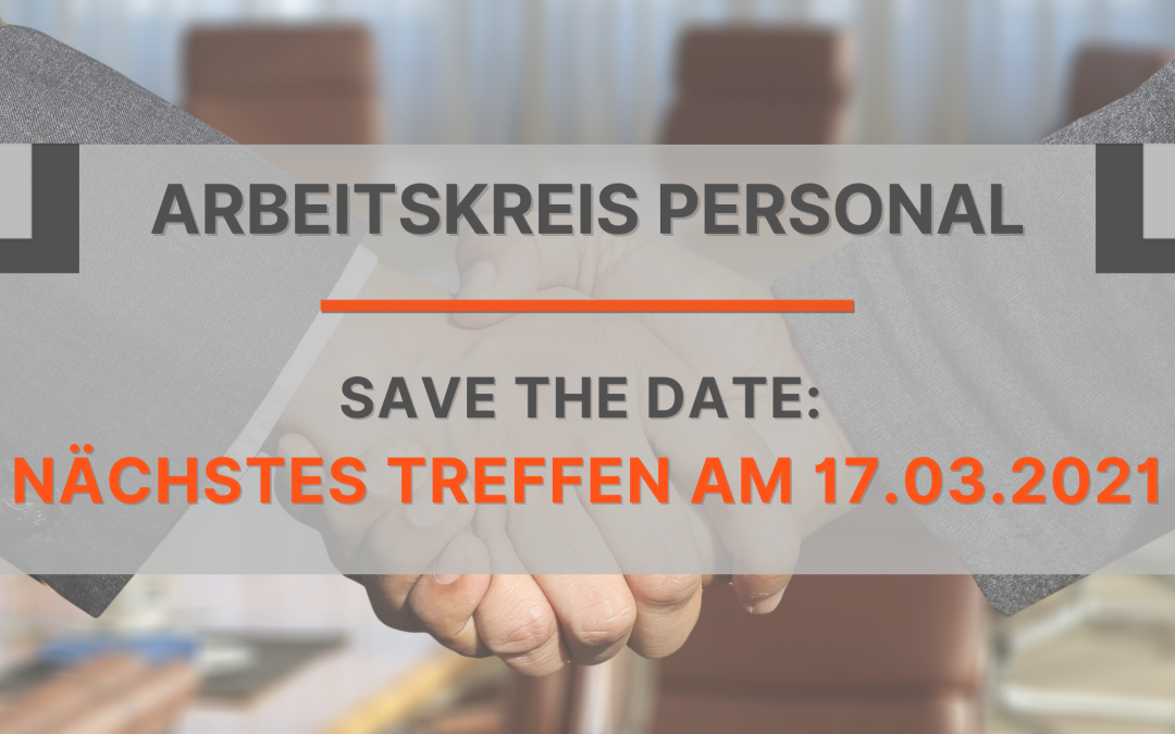 Save the date: 17.03.2021