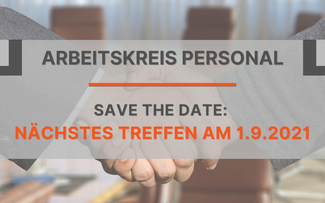 Save the date: 01.09.2021
