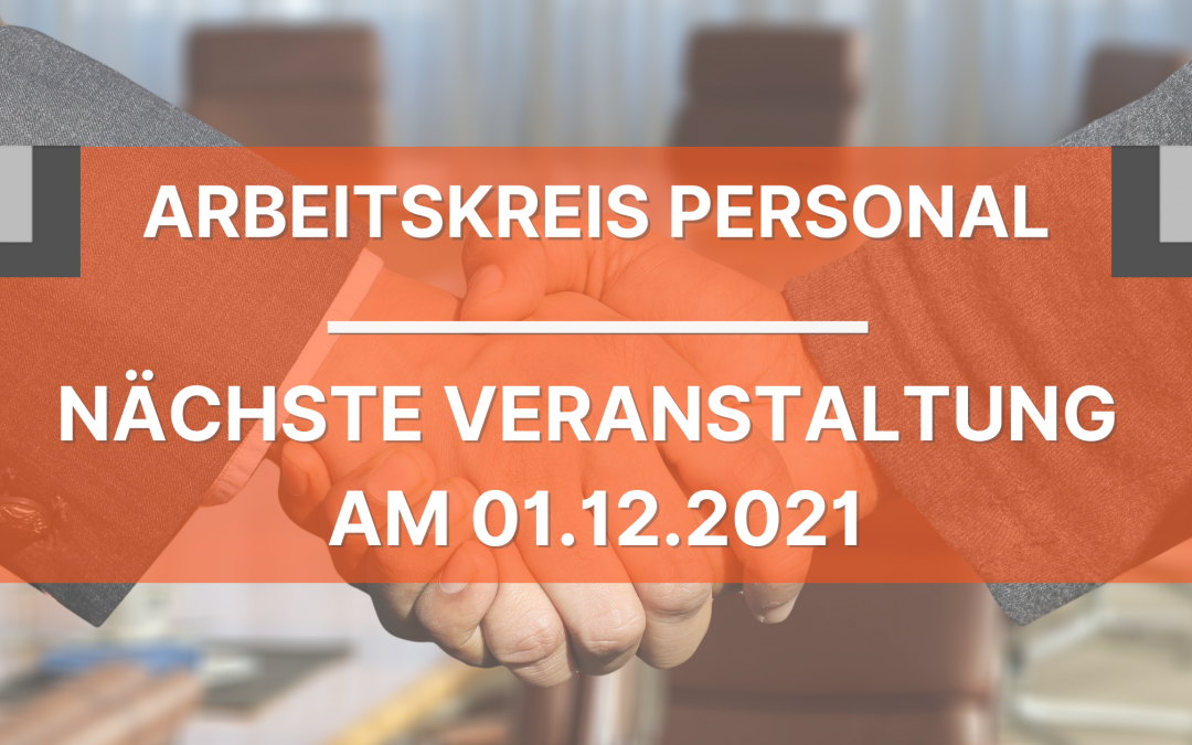 Save the date: 01.12.2021
